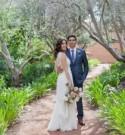 Blue + White Wedding at Rancho Valencia: Elyse + Al