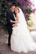 Nicole and Carlos' black tie wedding in Mexico