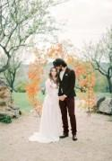 Delicate & Romantic Berry Wedding Inspiration - Polka Dot Bride