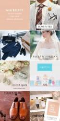 Enter to Win $3,500 in Gift Cards for Your Dream Wedding!