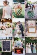 Super Sweet Garden Wedding with Pretty Details (and a Goat!)
