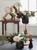 Industrial + Elegant Copper Wedding Inspiration