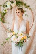Mint And Rose Gold Wedding Shoot With Three Eclectic Table Designs - Weddingomania