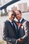 These dapper guys had a super chic New York City elopement