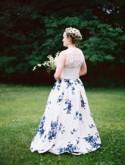 Saga and Jake's european-inspired garden wedding