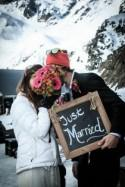 Trash The Dress Shoot in Chamonix - French Wedding Style