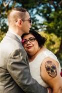 Colourful Dia De Los Muertos Wedding in Austin