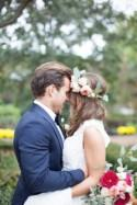 Romantic & Joyful Home Wedding with Beautiful Florals