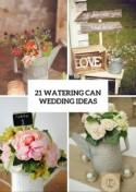Watering Cans On Your Wedding Decor - 21 Cute Ideas To Incorporate Them - Weddingomania