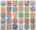 """200 """"Pick Your Color"""" Paper Straws, MADE IN USA, Paper Drinking Straw, Mason Jar Straws, Party Paper Straws, Wedding Straws, Bulk Discount"""