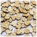 "100pcs Love wood Hearts 0.5"" 1/2 inch (W)mini tiny wooden engraved ""LOVE"" hearts wedding Decor-table decorations confetti-rustic scrapbook"