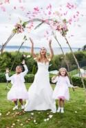 A Pretty Pink Ombre Wedding - Belle The Magazine