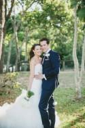 Relaxed Beach Glamour Wedding - Polka Dot Bride