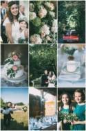 Sweet DIY English Barn Wedding