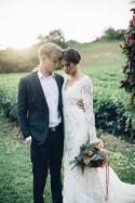 Lush Winter Wedding Inspiration - Polka Dot Bride