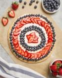Paper Flowers, Patriotic Pizza Pies and Have a Happy 4th of July!