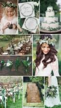 Beautiful Greenery Wedding Inspiration - Wedding Friends