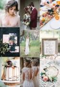 Bohemian French Wedding Inspiration Board - French Wedding Style