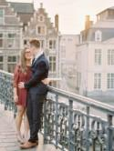 First Year Anniversary Shoot in Europe - French Wedding Style