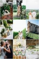 Super Chic Italian Wedding