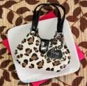 Recipient Gifts - Chic Cheetah Animal-Print Purse Four-Piece Manicure Set Wedding Favors BETER-ZH019
