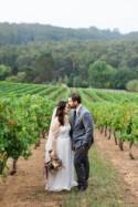 Romantic Swallowfield Vineyards Wedding - Polka Dot Bride