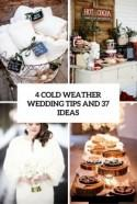 4 Cold Weather Wedding Tips And 37 Ideas - Weddingomania
