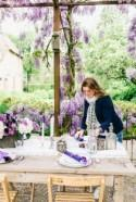 Romantic Wisteria Inspired Wedding Styled Shoot - French Wedding Style