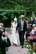 Last-minute Halloween wedding idea: animal masks!