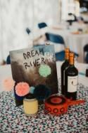 Colorful Pompom Wedding With A Party All Night Long - Weddingomania