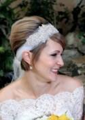 Bridal Headpiece, BONNIE, Great Gatsby Headpiece, Bridal Headpiece, Rhinestone Leaf Headband, Crystal Headpiece,