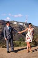 Fabulous kitsch reigns supreme at this Hollywood luau tiki wedding