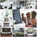 On adore l'ambiance élégante de cette bridal shower en noir et blanc - Mariage.com