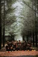 Rustic Bold Fall Wedding With Pumpkins - Weddingomania