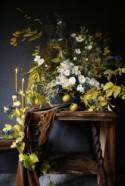 Moody Winter Floral Centerpieces from McKenzie Powell