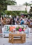 From Wedding to Home: Tropical Glam