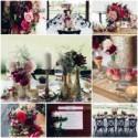 Paillettes dorées et rouge foudroyant au cœur d'une réception glamour - Mariage.com