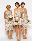 SHORT BRIDESMAIDS DRESS