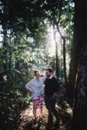 Sweet Curtis Falls Engagement Photos - Polka Dot Bride