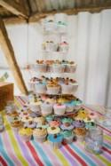 Rainbow Pastel Candy Stripe Wedding