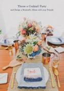 Winter Cocktail Party + Design a Shutterfly Wedding Album