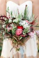 Organic Modern Fall Wedding With Bold Touches - Weddingomania