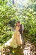 Bask in the magic of this ritualistic woodland fae wedding (with a handmade dress!)