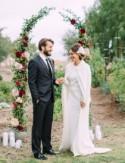 A Fresh Fall Wedding at Catalina View Gardens