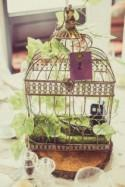 Steampunk Meets Alice in Wonderland Wedding With a Bride Wearing Wings!