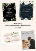 Invitation Suites from Minted + $1000 Giveaway