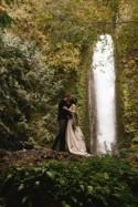 The Intimacy of Love: A Bohemian Waterfall Wedding Elopement