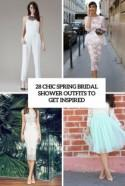 28 Chic Spring Bridal Shower Outfits To Get Inspired - Weddingomania