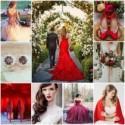 Le rouge passion, la couleur qui sublime votre tenue de mariée ! - Mariage.com