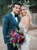 DWTS Mark Ballas + BC Jean's Bold, Bohemian-Inspired Wedding